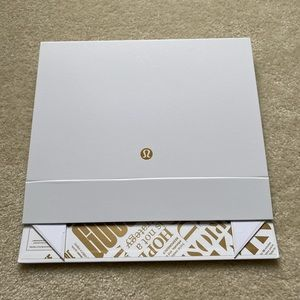 Lululemon White Gift Box